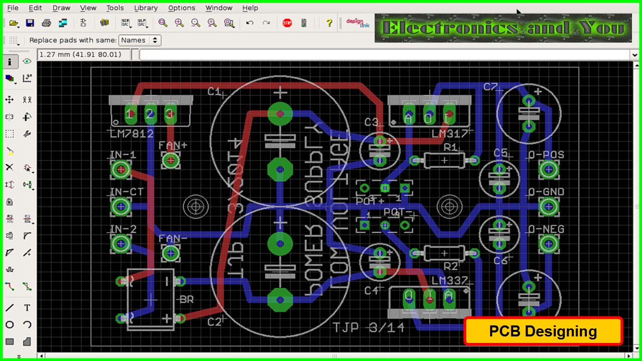 Printed Circuit Board Design Diagram And Assembly Steps Tutorial