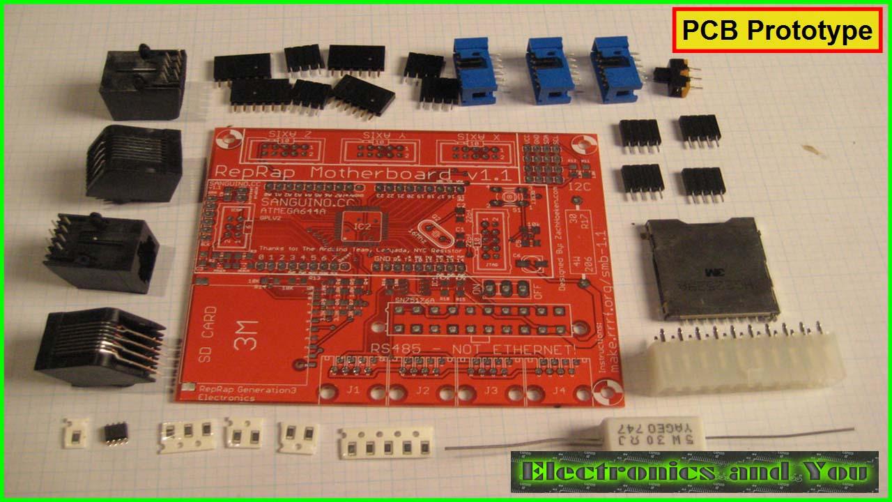 PCB Prototype (Printed Circuit Board Prototype)
