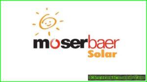 Moser Baer Solar Logo