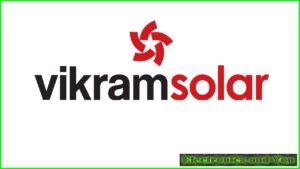 Vikram Solar Logo (Top 10 Solar Companies in India)