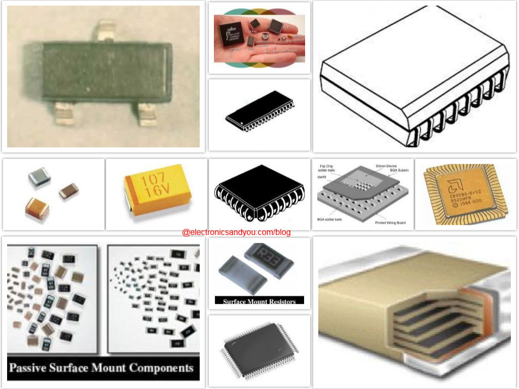 SMD Components for SMT - Surface Mount Electronic Device (SMD)