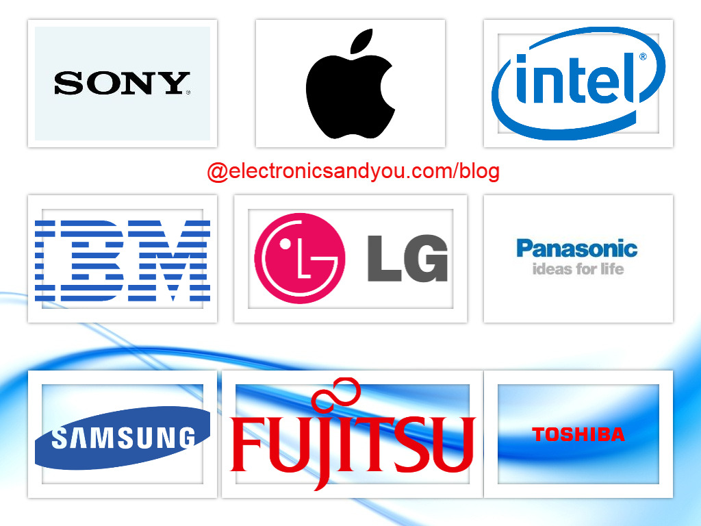Top 10 Consumer Electronics Companies in the World