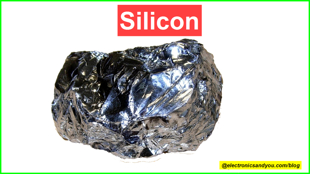 Silicon is most popular semiconductor material