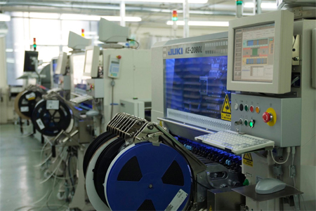 SMT Manufacturing Line and Assembly Process for Surface
