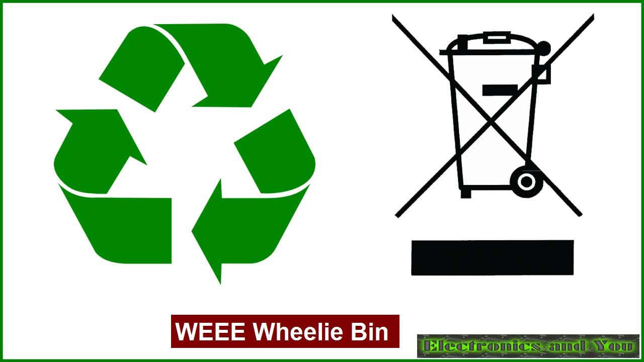 WEEE Wheelie Bin