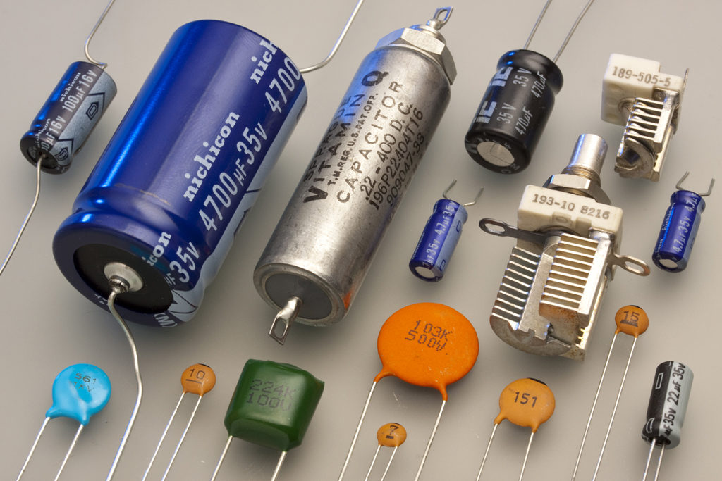 Capacitor - A Capacitor is a Passive Electronic Device
