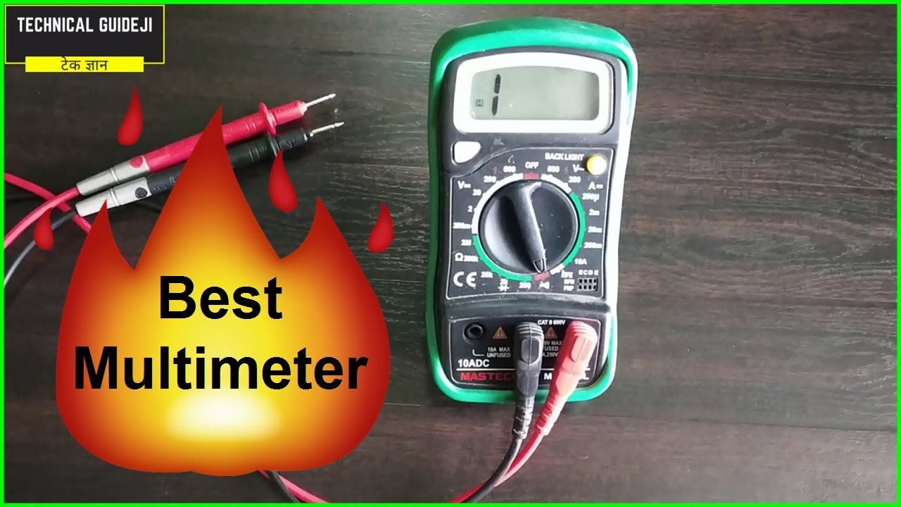 Best Multimeter in India