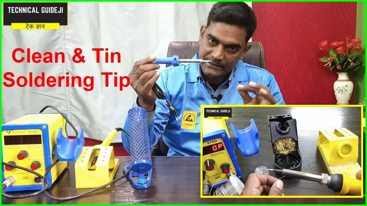 How to Clean Soldering Iron Tip