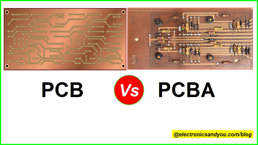 PCB Vs PCBA