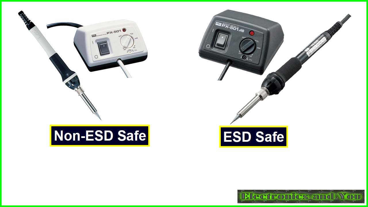 ESD Safe and Non-ESD Safe Soldering Station in India