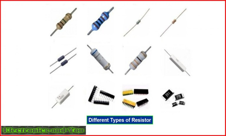 Resistor is a Passive Electronic Component