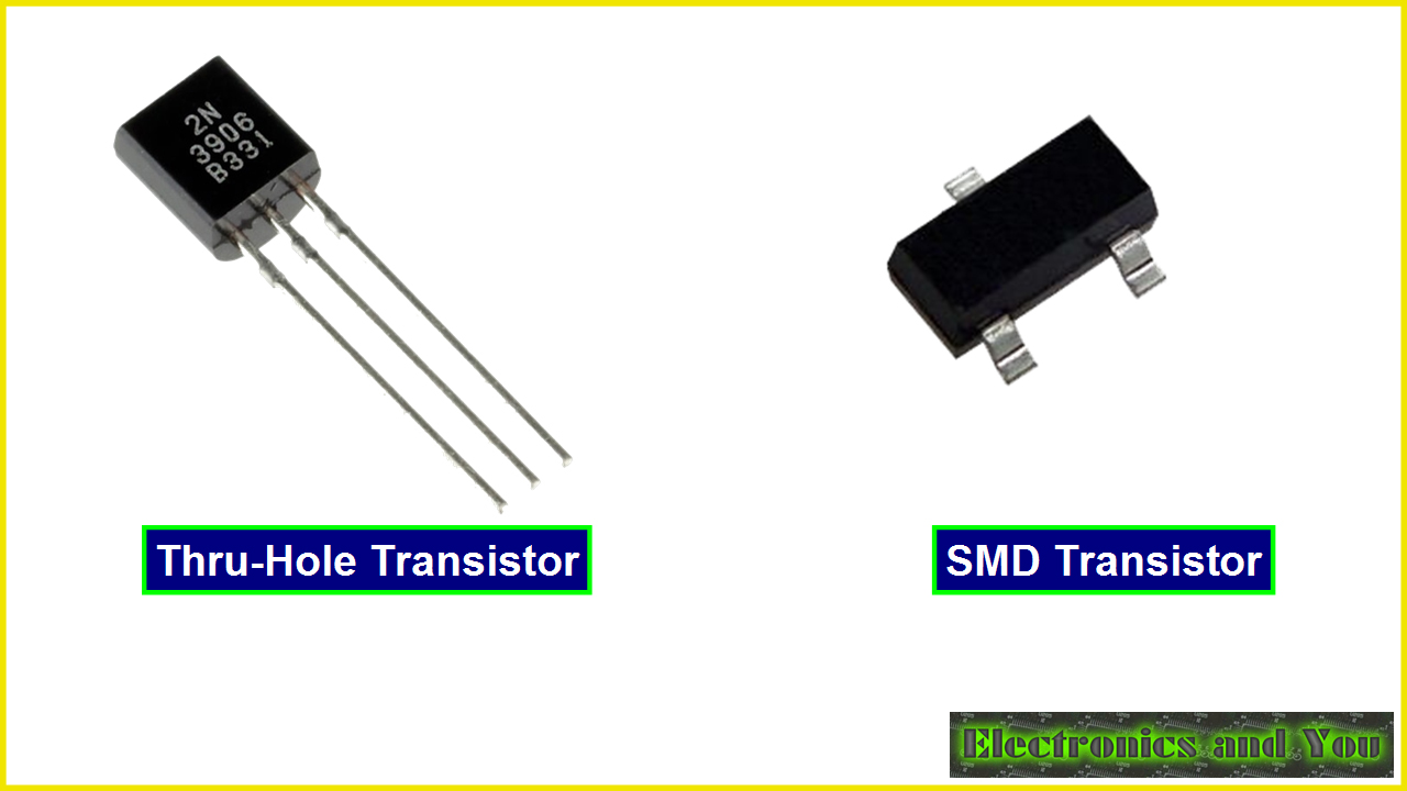Transistors are Active Electronic Component