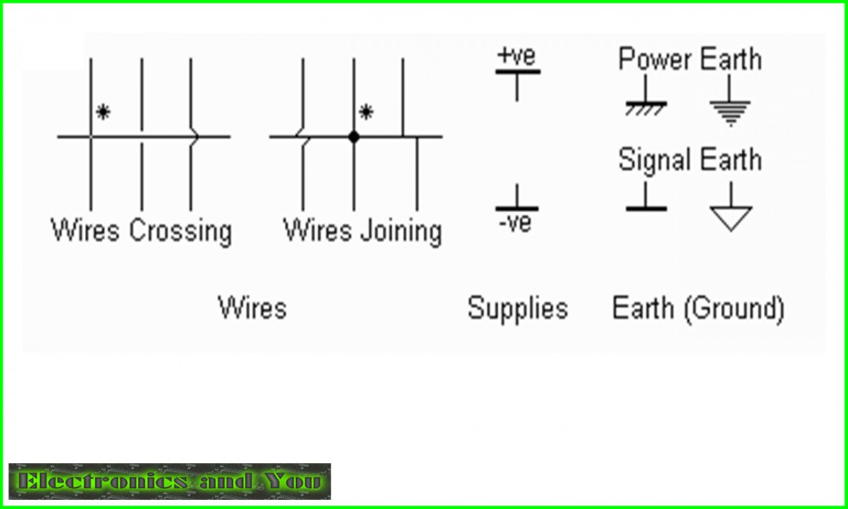 electrical wiring symbols, meanings and drawings  electronics tutorial