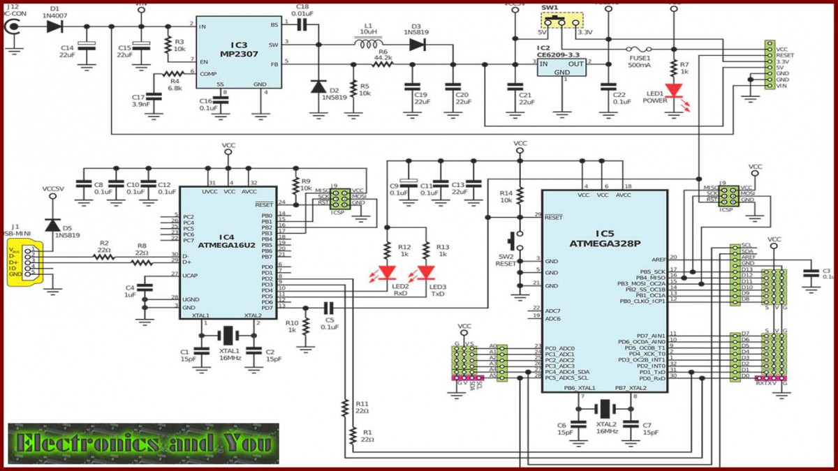 Electronic Circuits For Beginners Easy Simple Basic Electronic Circuits